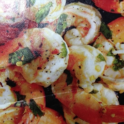 Olive Oil Baked Shrimp