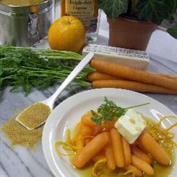 Orange-glazed Carrots