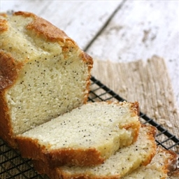Orange Poppy Seed Tea Bread
