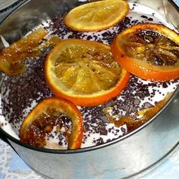 Orange Pound Cake with Glaze