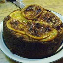 Vern's Orange Upside Down Cake