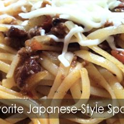 Our Favorite Japanese-Style Spaghetti Recipe!