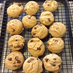 Outrages chocolate chip cookies