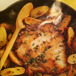 Oven-Roasted Black Cod