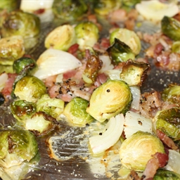 Oven Roasted Brussel Sprouts