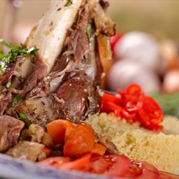 Oven-Roasted Leg of Lamb