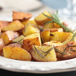 Oven Roasted Red Potatoes with Rosemary and Garlic