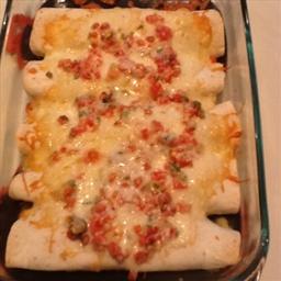 Over-the-Border Shrimp Enchiladas