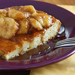 Overnight Bananas Fosters French Toast