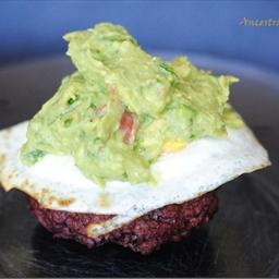 Paleo Guacamole Burger