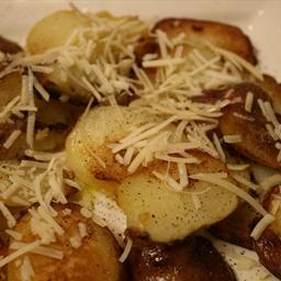 Panfried Parmesan Potatoes