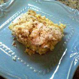 Panko Broccoli and Rice Casserole