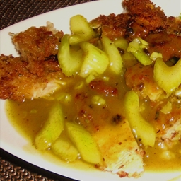 Parmesan-Crusted Lemon Chicken