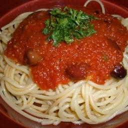 Pasta Puttanesca Sauce