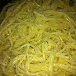Pasta with Cream Cheese Dressing