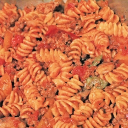 Pasta with Beef and Veggies