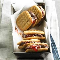Peanut Butter, Jelly, and Brownie Cookies