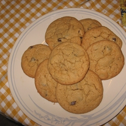 Peanut Butter n Chocolate Chip Cookies