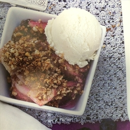 Pear-Berry Crisp