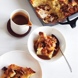 Pecan, Bourbon, and Butterscotch Bread Pudding