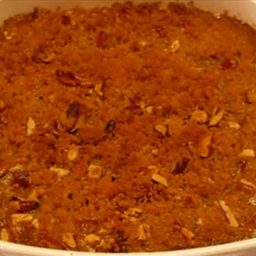 Pecan-topped Sweet Potato Casserole