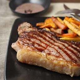 Perfect Sirloin Steak with Tasmanian Pepper Sauce
