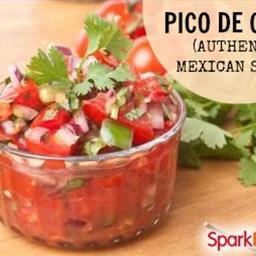 Pico de Gallo - Authentic Mexican Salsa
