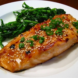 Poached Fish With Ginger and Soy