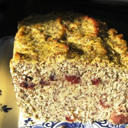 Poppy Seed Apple Coconut Loaf