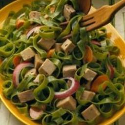 Pork and Pasta Salad