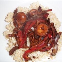 Pork And Pepper Stir Fry