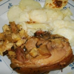 Pork Chop and Apple Casserole