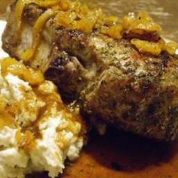 ... Meat - Steaks and Chops Pork Chops Stuffed with Smoked Gouda and Bacon