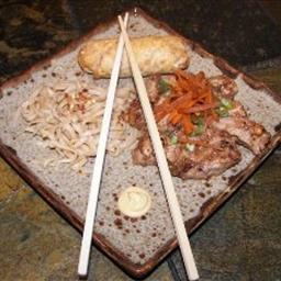 Pork in Thai Peanut Sauce