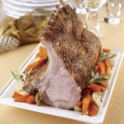 Pork Lion Roast with Bone In