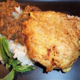 Potato Crusted Breast of Chicken
