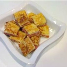 Prosciutto and Fontina En Carozzo with White Truffle Oil