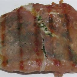 Prosciutto Wrapped Pork Chop