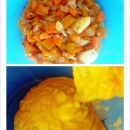 Pumpkin Carrot Pasta Sauce