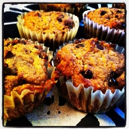 Gluten-Free Pumpkin Chocolate Chip Muffins