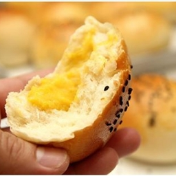 Pumpkin Custard Bun