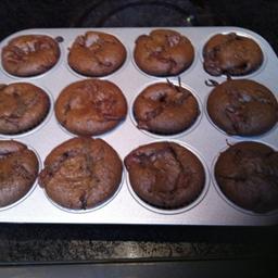 Quadruple Chocolate Cupcakes