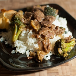 Quick Beef with Broccoli