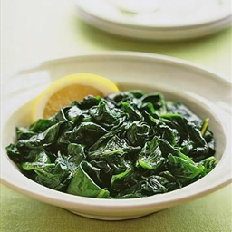 Quick Nuked Spinach
