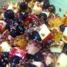 Quick Quinoa And Fruit Breakfast