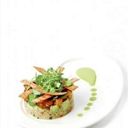 Quinoa, Avocado and Sweet Potato Timbale
