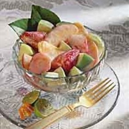 Rachel's Right Thurrr Creamy Fruit Salad with Basil