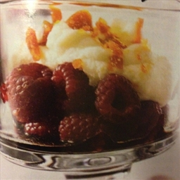 Raspberry Balsamic Parfaits