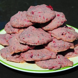 Raspberry Poppy Seed Cookies