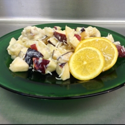 RBC Fresh Fruit Salad with Honey Vanilla Yogurt